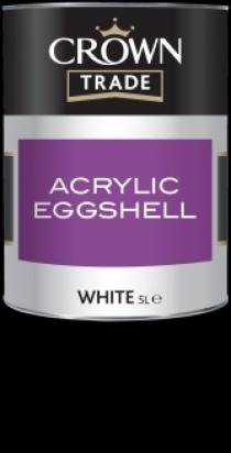 Crown Trade Acrylic Eggshell (baza)